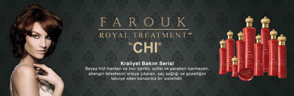 CHI Farouk Royal Treatment