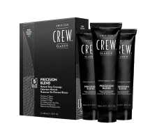 American Crew Classic Precision Blend Erkeklere Özel Amonyaksız Doğal Beyaz Kapatıcı Saç Boyası 3x40ml