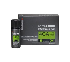 GOLDWELL Men ReShade Erkeklere Özel Beyazlayan Saçlar İçin Renklendirici Köpük 4x20ml