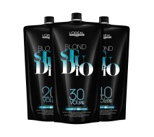 LOREAL Blond Studio Platinium Besleyici Krem Oksidan 1000ml