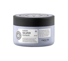 Maria Nila Sheer Silver Sarı Saçlar İçin Turuncu Önleyici Mor Tonlama Maskesi 250ml
