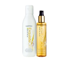 MATRIX Biolage Exquisite Oil Şampuan + Argan Yağı Seti