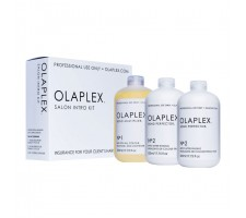 Olaplex Salon Intro Kit Teknik İşlemler İçin Saç Koruyucu ve Güçlendirici Bakım Sistemi 3x525ml